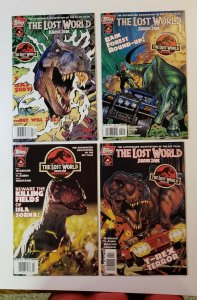 Jurassic Park: The Lost World #1-4 Complete Set Topps Comics 1997 VF/NM