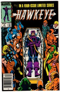 HAWKEYE #4 (5.0-5.5) No Reserve! 1¢ Auction!