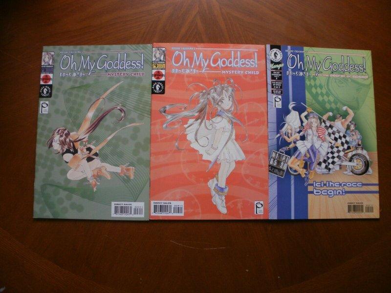 3 Nr-Mint Dark Horse MANGA Comic OH MY GODDESS Mystery Child #3 9 Secret Speed 2