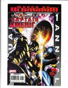 ULTIMATE CAPTAIN AMERICA ANNUAL#1 NM/VF  BLACK PANTHER App.  Save on shipping