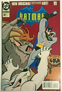 BATMAN ADVENTURES#21 VF 1994 DC COMICS