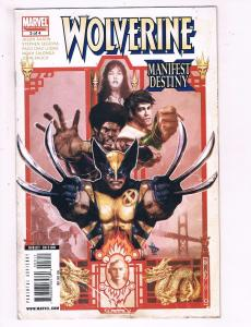Wolverine #3 Of 4 VF Marvel Limited Series Manifest Destiny Comic Book DE14