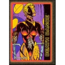 1993 Skybox Ultraverse: Series 1 DEATH DANCE #54