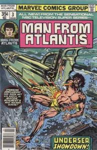 Man from Atlantis #3 FN; Marvel | save on shipping - details inside