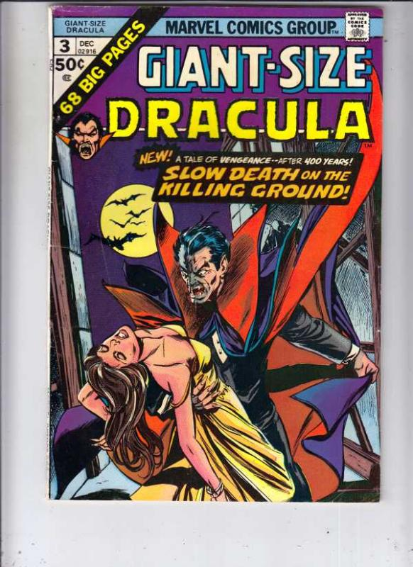 Giant-Size Dracula #3 (Dec-74) VF High-Grade Dracula