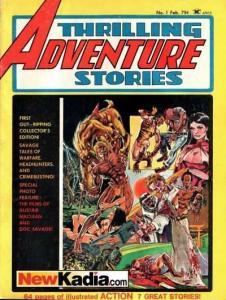 Thrilling Adventure Stories #1, VF- (Stock photo)