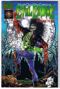 EVIL ERNIE ; STRAIGHT TO HELL #5, NM+, Zombie, 1995, more EE in store