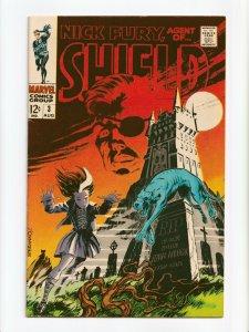 Nick Fury Agent of SHIELD #3 Marvel Comics 1968 VF-