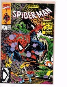 Marvel Comics Spider-Man #4 Todd McFarlane Story & Art Lizard Calypso