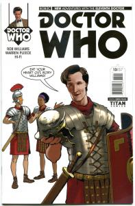 DOCTOR WHO #13 A, NM, 11th, Tardis, 2014, Titan, 1st, more DW in store, Sci-fi