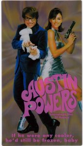 Austin Powers Exclusive Holographic TC