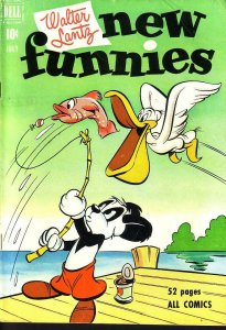 NEW FUNNIES #173 WOODY WOODPECKER EGYPTIAN COLLECTION FN