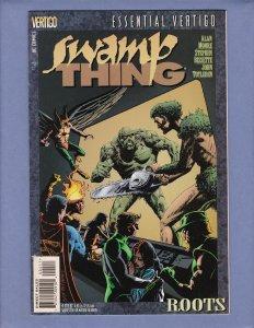 Essential Vertigo Swamp Thing #4 VG/FN Alan Moore Front/Back Cover Scans 1997