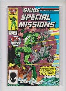 GI JOE SPECIAL MISSIONS V1 # 1   1985  MARVEL  / UNREAD / NM / +