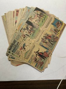 Mandrake The Magician Newspaper Color Sunday's 1945-1951 75+ Tabloid Size