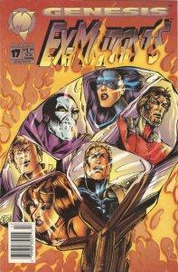 Ex-Mutants (Malibu) #17 (Newsstand) FN; Malibu   save on shipping - details insi