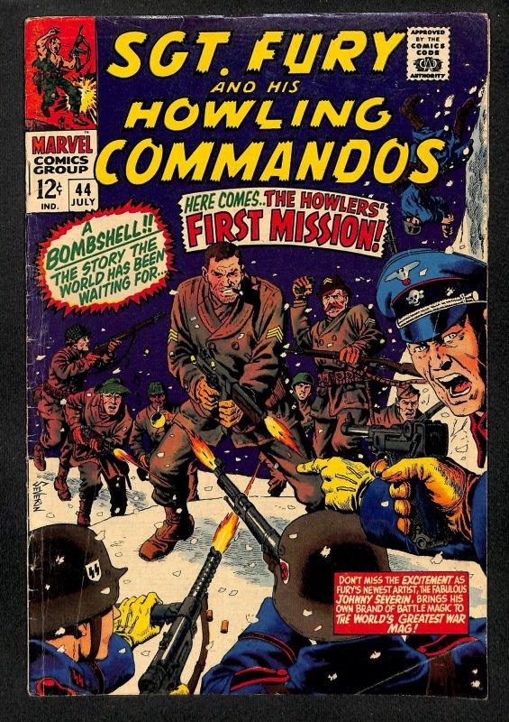 Sgt. Fury #44 (1967)