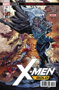X-Men Gold (2017 series) #20, NM (Stock photo)