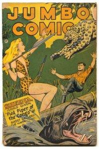 Jumbo Comics #92 1946- SHEENA- Matt Baker G/VG