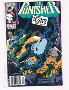 The Punisher #41 VF Marvel Comics Netflix Comic Book Daredevil Oct 1990 DE44