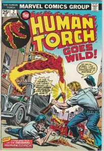 Human Torch #2 (Nov-74) VF/NM High-Grade Human Torch