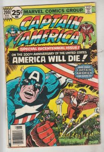 Captain America #200 (Aug-76) VG+ Affordable-Grade Captain America