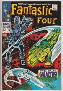 Fantastic Four #74 (May-68) NM- High-Grade Fantastic Four, Mr. Fantastic (Ree...
