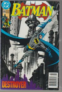 BATMAN #474 - 1992 - DC COMIC - BAGGED & BOARDED
