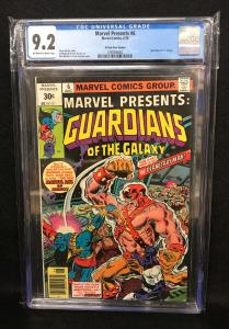 Marvel Presents 30 Cent Variant  #6 (Marvel, 1976) CGC 9.2