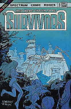 They Were Chosen to be the Survivors #3 FN; Spectrum | save on shipping - detail