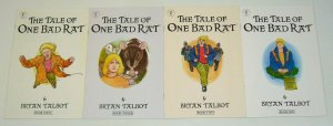 the Tale Of One Bad Rat #1-4 VF/NM complete series - bryan talbot - dark horse
