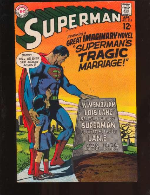 Superman (1939 series) #215, VF (Actual photo)