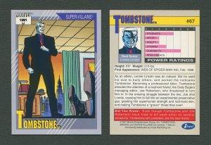1991 Marvel Comics II  Card  #67 ( Tombstone )  MINT
