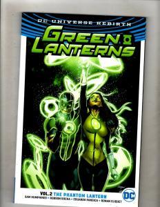 Green Lanterns Vol. # 2 Phantom Lantern TPB Graphic Novel DC Comic Book J346