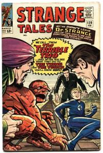 STRANGE TALES #129 1965-HUMAN TORCH-THING-STEVE DITKO fn+