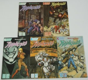 Appleseed Book Two #1-5 VF/NM complete series MASAMUNE SHIROW studio proteus II
