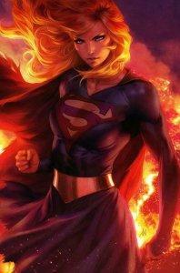 DARK NIGHTS DEATH METAL #3 Stanley Lau Variant DC NM Supergirl