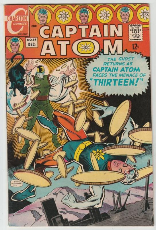 Captain Atom #89 (Dec-67) VF/NM High-Grade Captain Atom, Nightshade