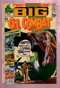 G.I. COMBAT #145 1970- THE HAUNTED TANK-2ND GIANT ISSUE FN