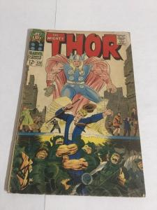 Thor 138 Gd+ Good+ 2.5 Water Damage Marvel Comics Silver Age