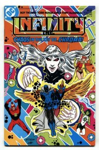 Infinity Inc. #14 1st published artwork by TODD MCFARLANE at DC comic book