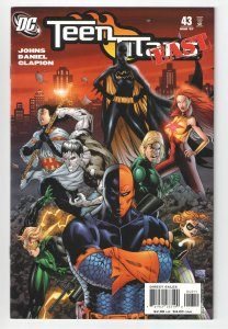 TEEN TITANS 43 VF/NM (2007) 1st FULL AND COVER APP ENIGMA(RIDDLERS DAUGHTER)