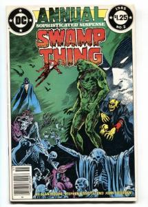 Swamp Thing Annual #2 JUSTICE LEAGUE DARK 1984 Deadman