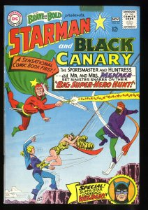 Brave And The Bold #62 VG/FN 5.0 White Pages Starman Black Canary!