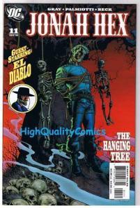 JONAH HEX #11, NM+, Justin Gray, Palmiotti, El Diablo, 2006, more JH in store
