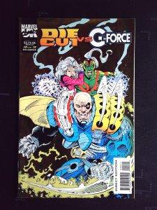 Die-Cut Vs. G-Force (UK) #2 (1993)