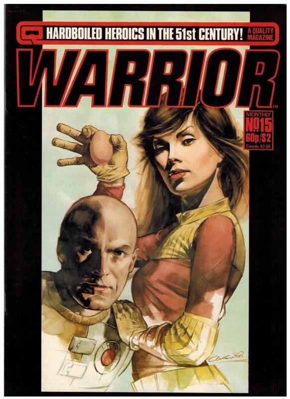 WARRIOR (1982 QUALITY) 15 F-VF ALAN MOORE+++++