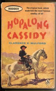 Hopalong Cassidy Paperback Book 1961-Hodder-Mulford-UK reprint-Boyd-G