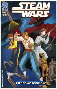 STEAM WARS #1, NM, FCBD, Star Wars parody, 2014, more Promo / items in store