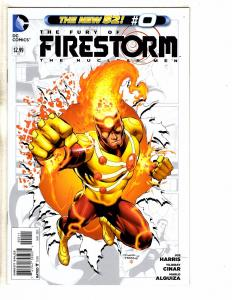 Lot Of 5 Firestorm DC NEW 52 Comic Books # 0 1 2 3 4 Batman Flash Arrow J259